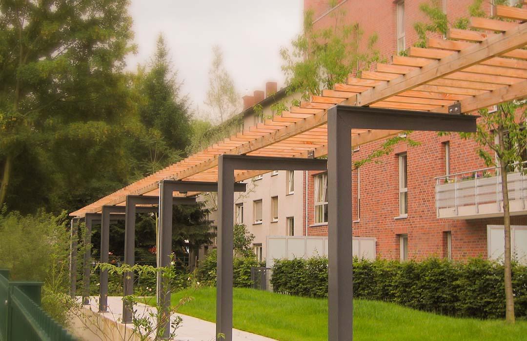 Holz Wasserhahn Garten